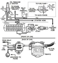 2edb9c9e67abf8b3b8e934ce513fbb32 wiring an electric fuel pump diagram engine pinterest engine electric fuel pump wiring diagram at webbmarketing.co