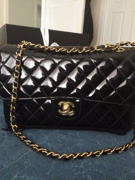 5de53dfa2260 Patent Leather · Retail · Chanel Classic Flap Med/large Shoulder Bag. Get  one of the hottest styles of