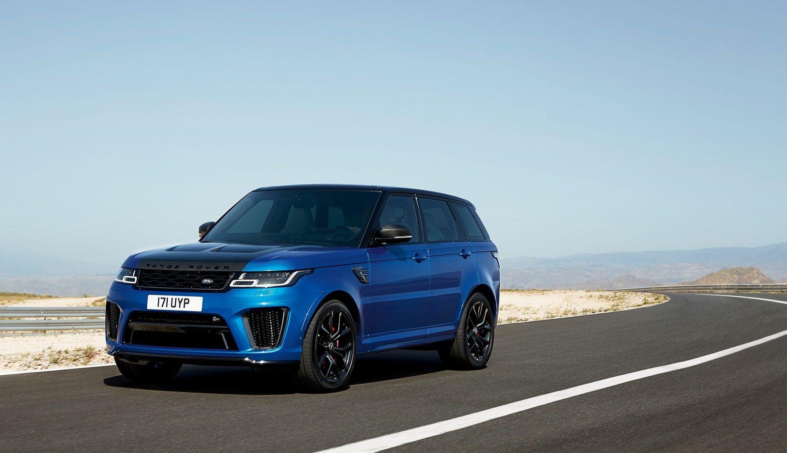 2018 Range Rover Sport Svr Facelift Looks Ready To Rumble Carscoops Range Rover Sport Range Rover Land Rover