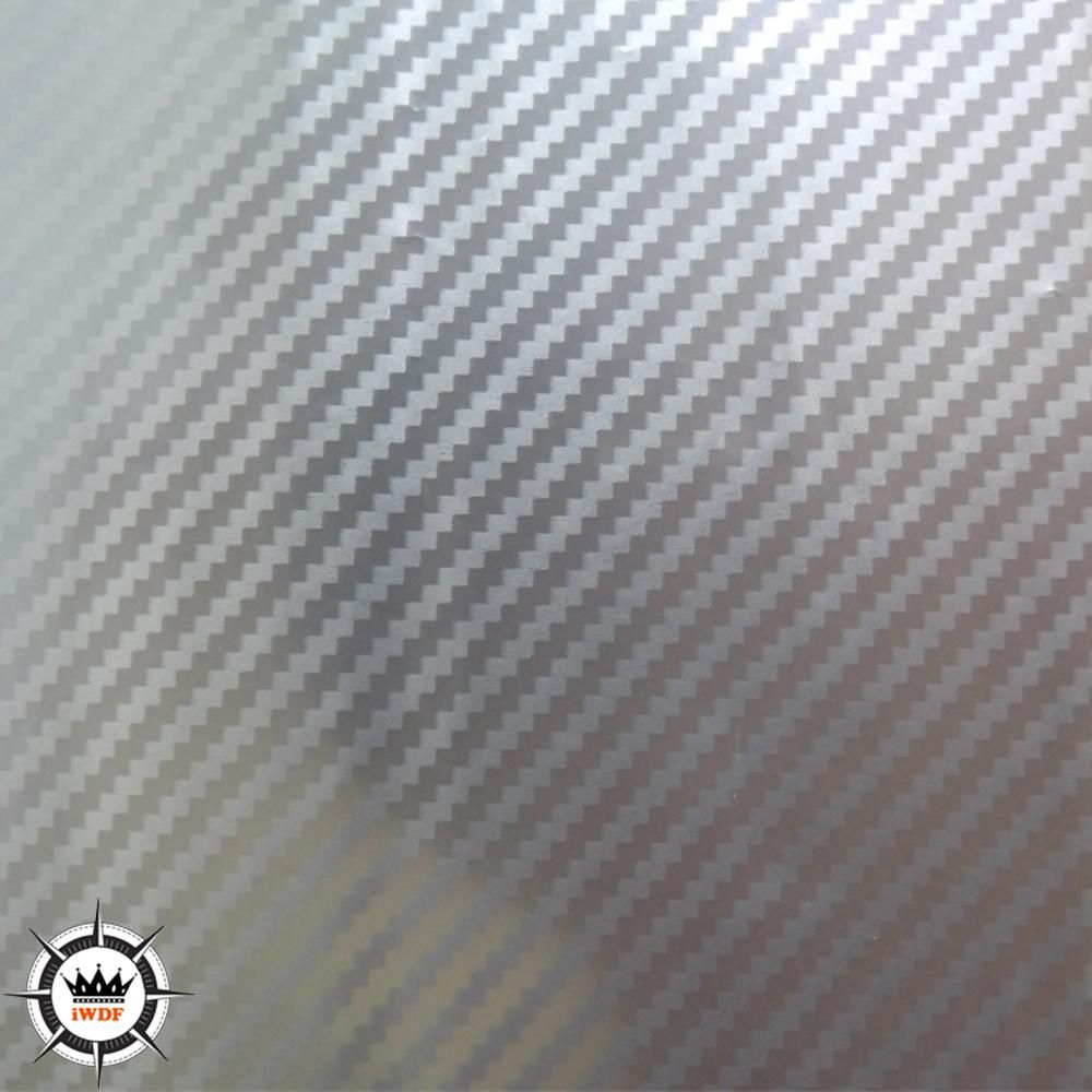 Wdf790 3 5squar Meter Carbon Fiber Water Transfer Printing Film Hydrographics Transparent Silver
