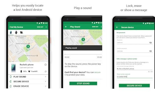 Google Find My Device Apk Hubs Android security, Best