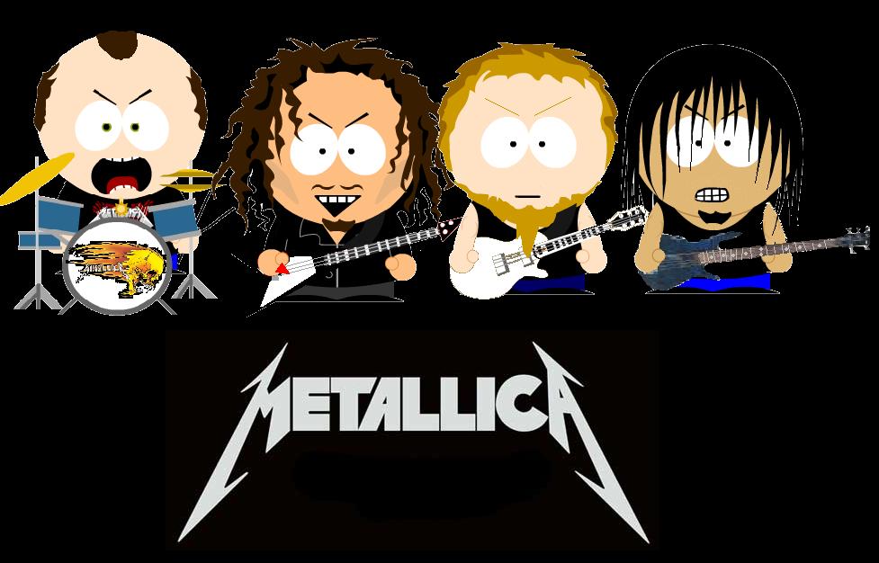 South Park Metallica   My music   Metallica, Music, South park