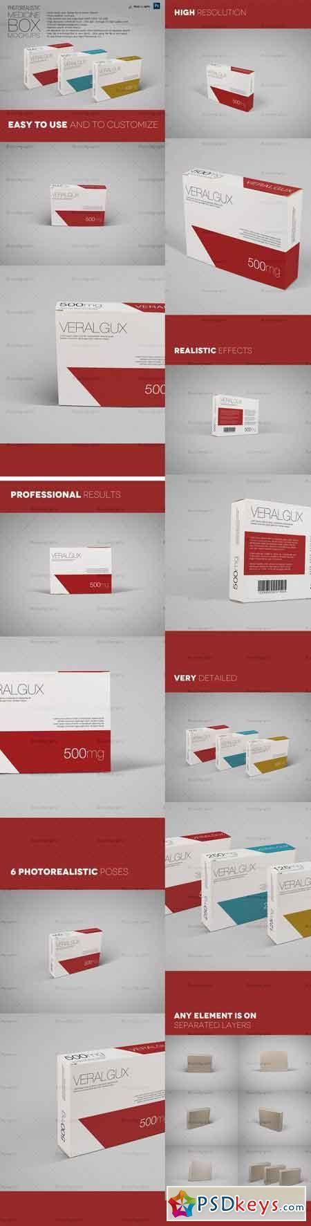 Download Photorealistic Medicine Box Mockups 363059 Free Download Photoshop Medicine Boxes Box Mockup