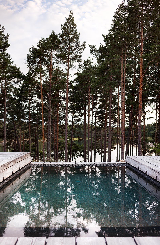 Dorf innenarchitektur joarc i architects u holiday villas u outdoor pool scandinavian