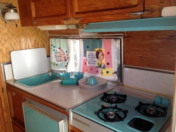 Interior 1967 Cardinal For Sale In Santa Barbara As Seen On Little Vintage Trailer Of