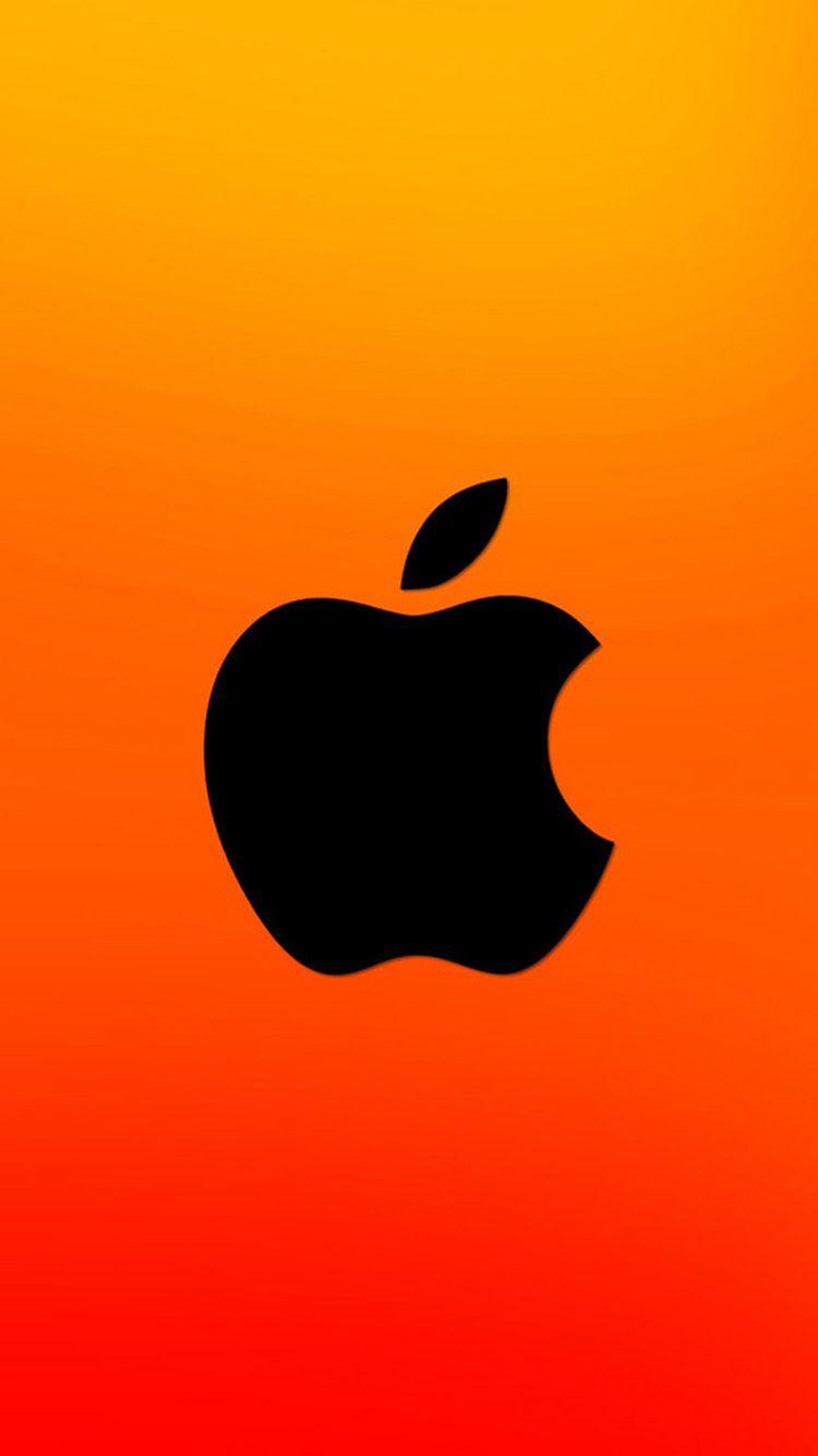 Orange Apple Logo wallpapers (105 Wallpapers) - Wallpapers 4k