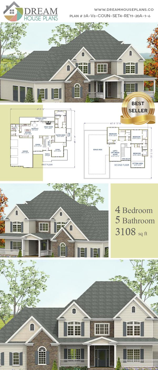 Dream House Plans Affordable Southern Family 4