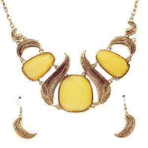 Stone Necklace Set by Jewelz - 1845_b