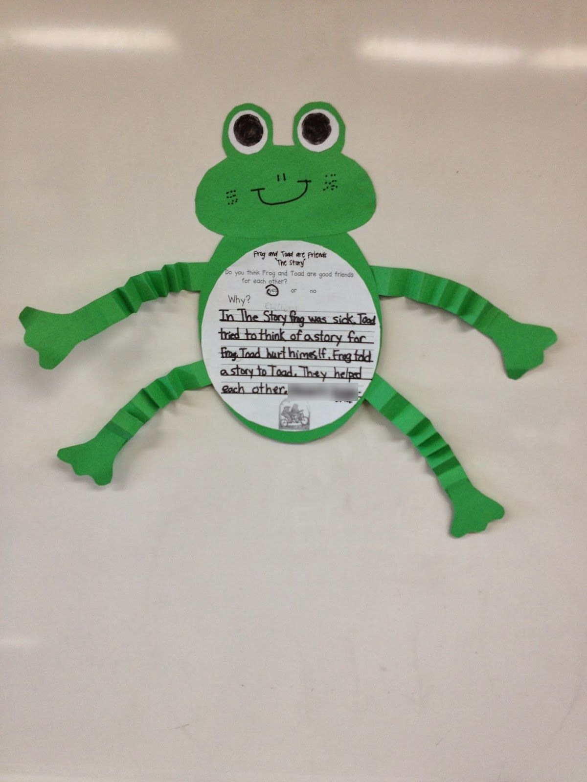 Frog And Toad Activity