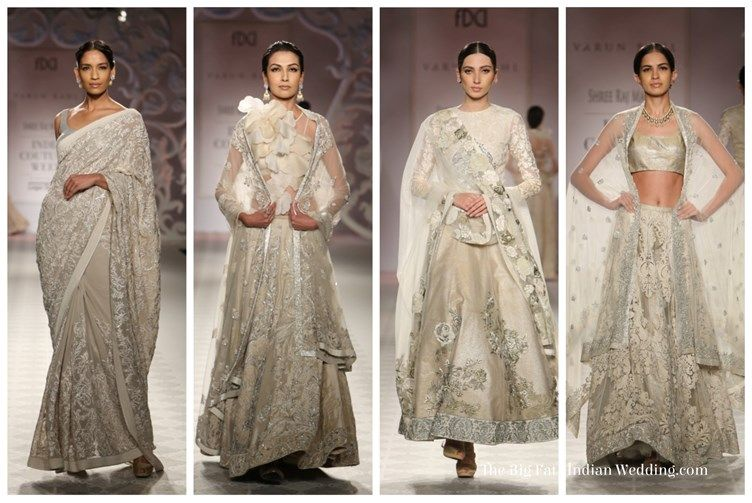 Silver Varun Bal India Couture Week width=