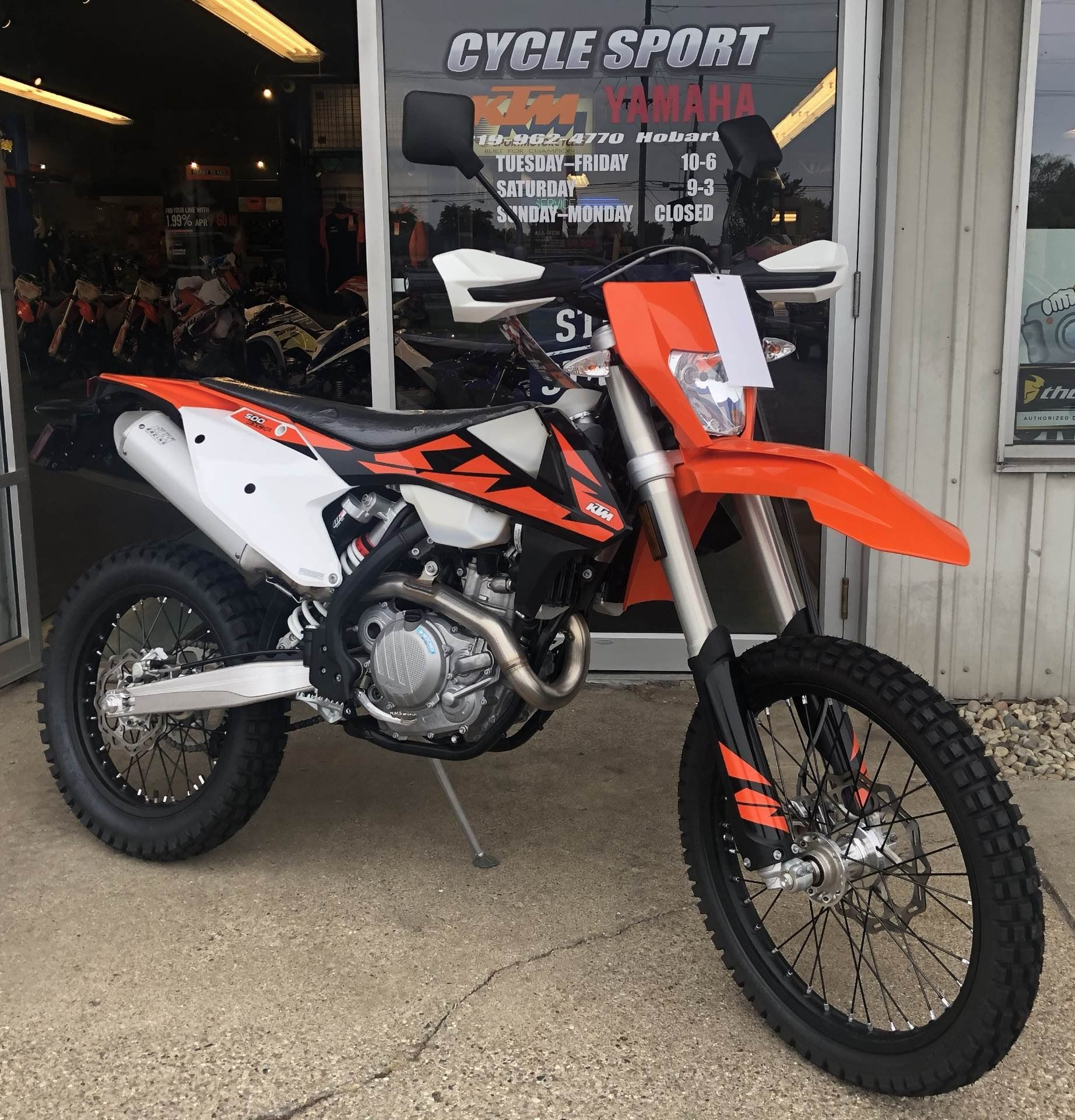 2018 Ktm 500 Exc Style From New 2018 Ktm 500 Exc F Motorcycles In