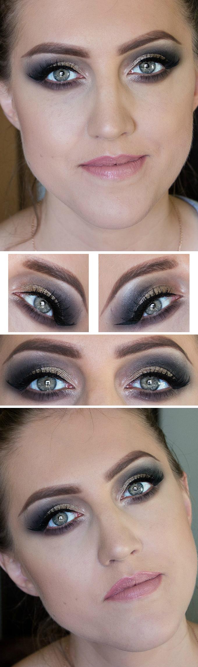 Grey smokey eye makeup look Smokey eye makeup, Eye