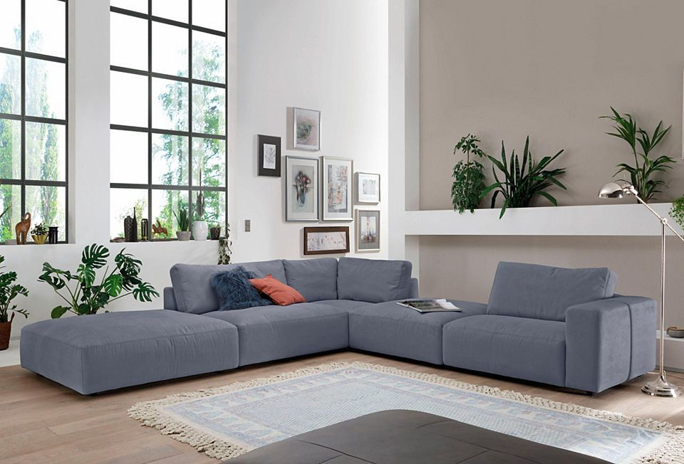 GALLERY M Polsterecke »Lucia« in vielen Farben und Qualitäten - welche farbe für wohnzimmer