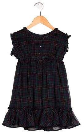e2d66d2cc Ralph Lauren Girls' Plaid Ruffled Dress | Products in 2018 ...