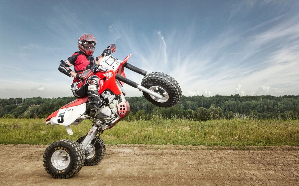 Honda XR 650R 3-Wheeler Conversion - Editorial - ATV Trail Rider