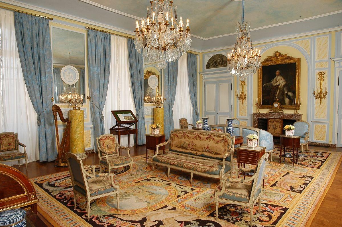 Les intérieurs du Château | Château de Drée | Ambienti classici ...