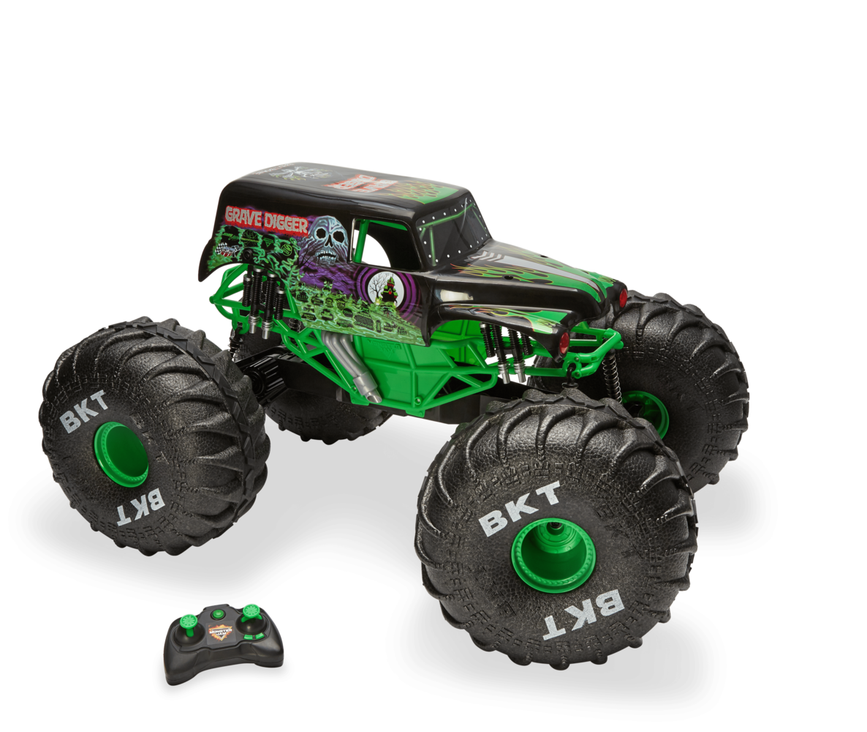 Spin Master Monster Jam Mega Grave Digger R C Truck Monster Jam Monster Trucks Monster