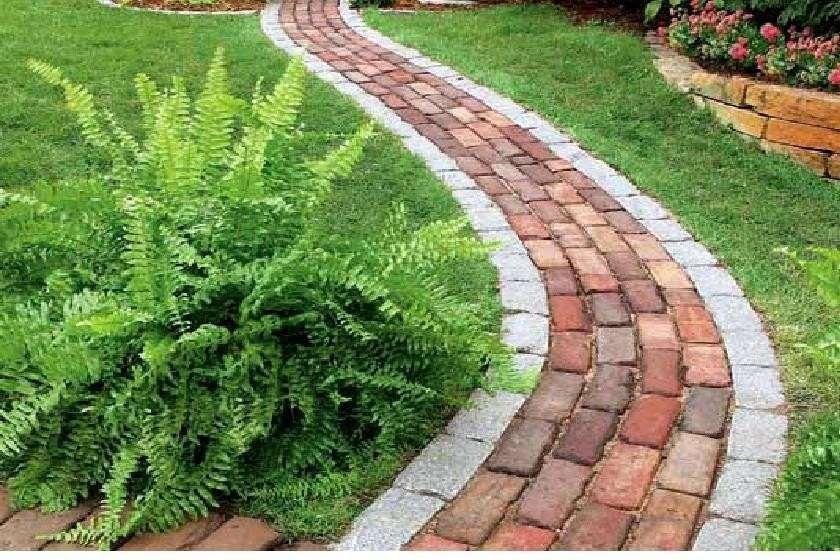 Vialetto giardino fai da te vialetto pietra fai da te for Mattoni per aiuole