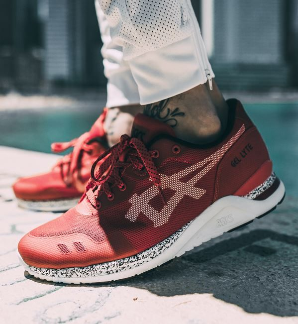 Asics Gel Lyte EVO NT: Red