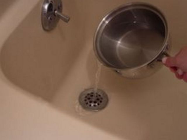 How To Get Rid Of A Shower Drain Smell Hunker Shower Drain Smell Shower Drain Shower Drain Cleaner