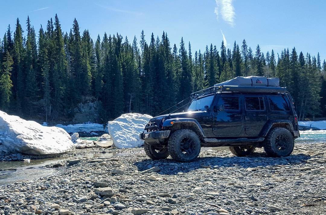 vagabondexpedition jeep wrangler exploring alberta