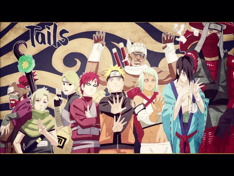 1 2 3 4 5 6 7 8 9 Tailed Beasts Naruto Vs Sasuke