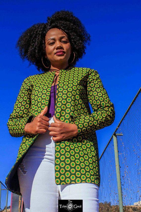 Vestidor Chaqueta Mujer Para Impresión Moda Ankara Africana 4zqYwAwZ