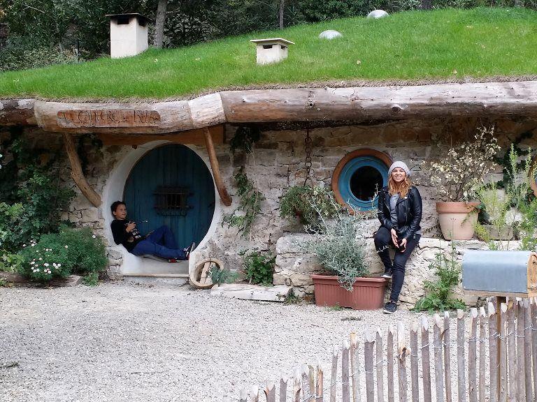 Hobbit hole, Var, France.