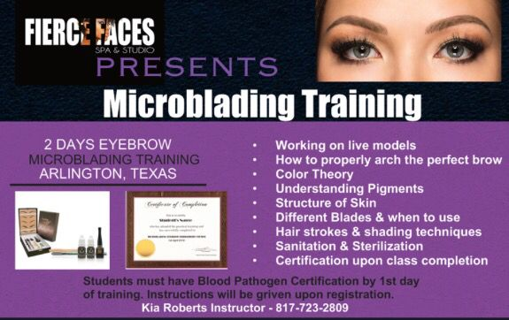 Microblading Training Arlington Tx 2 Day Training Course Microblading Microblading Aftercare Eyelash Extensions Aftercare