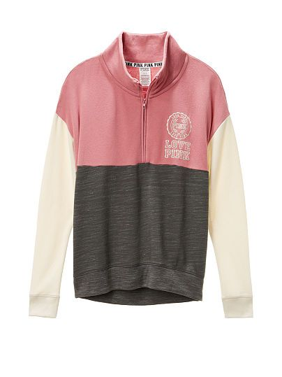 6701cfb5b9bd9 High/Low Half Zip. Can't wait for fall weather to wear these ...