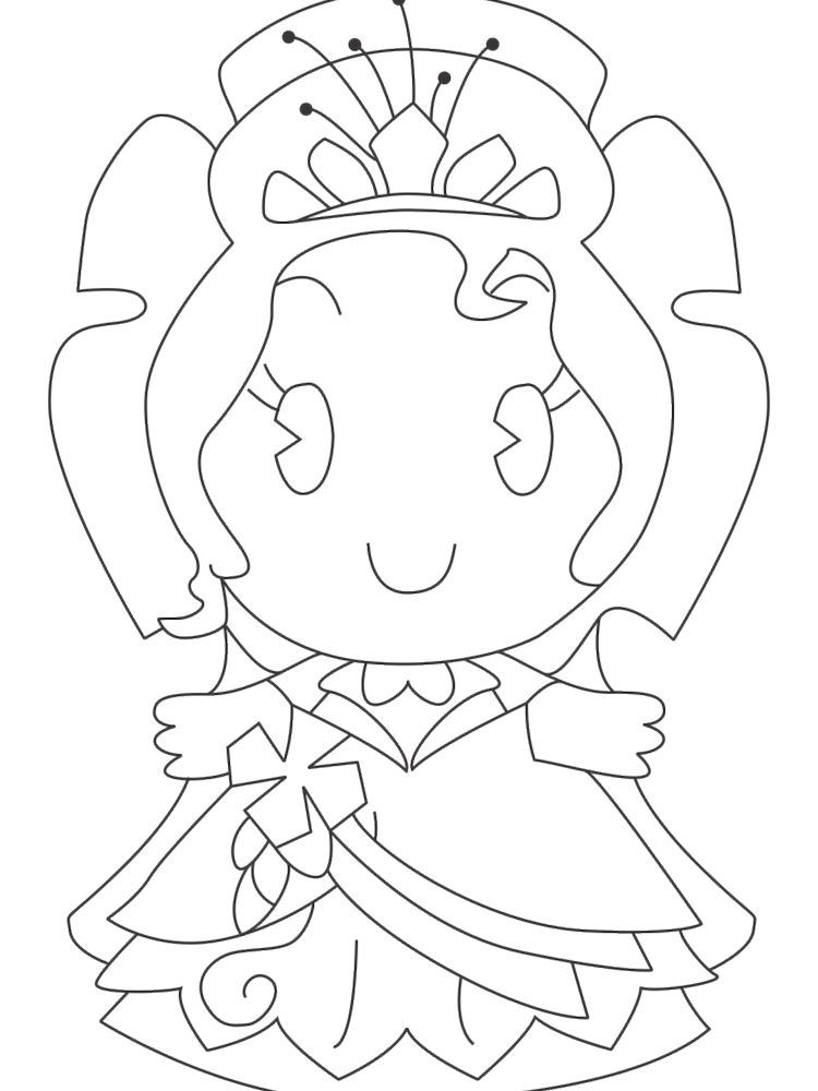 Disney Princess Cuties Coloring Pages : disney, princess, cuties, coloring, pages, Disney, Princess, Cuties, Coloring, Pages., Character,, Princess…, Cartoon, Pages,, Pages