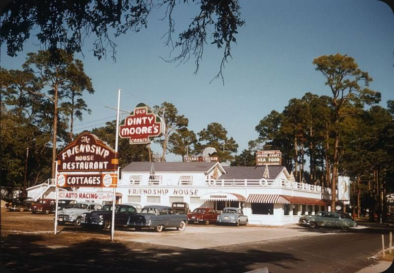 A Restaurant Called Friendship House In Biloxi Mississippi Around 1955