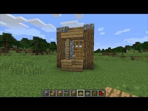 マインクラフト 簡単な小さい家の作り方 Wiiu Psvita Ps4対応 Minecraft Youtube マインクラフト 小さい家 マインクラフトの建物