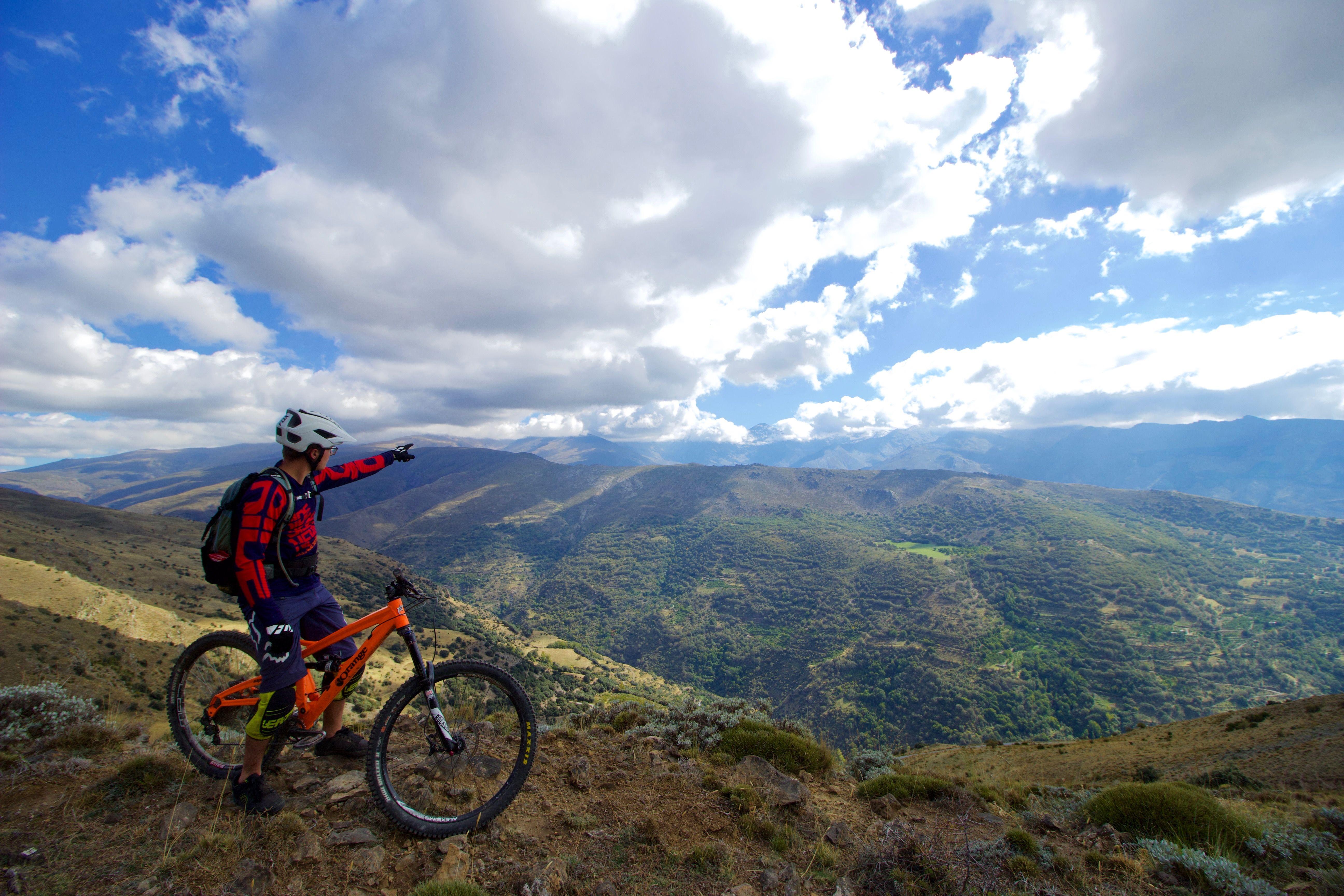 Enduro Sierranevada Mtb Spain Sierra Nevada Malaga Vacances