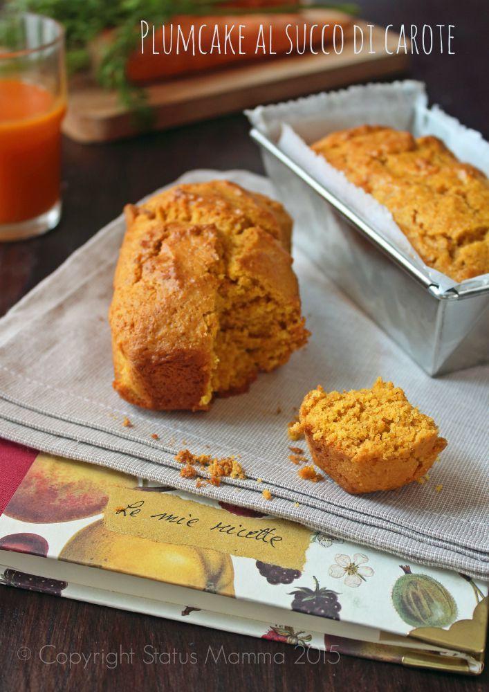 Plumcake al succo di carote senza uova e lattosio vegano for Cucinare vegano