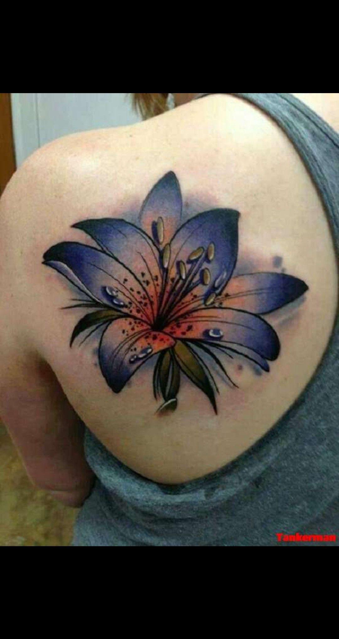 29+ Best Tiger lily tattoo designs ideas