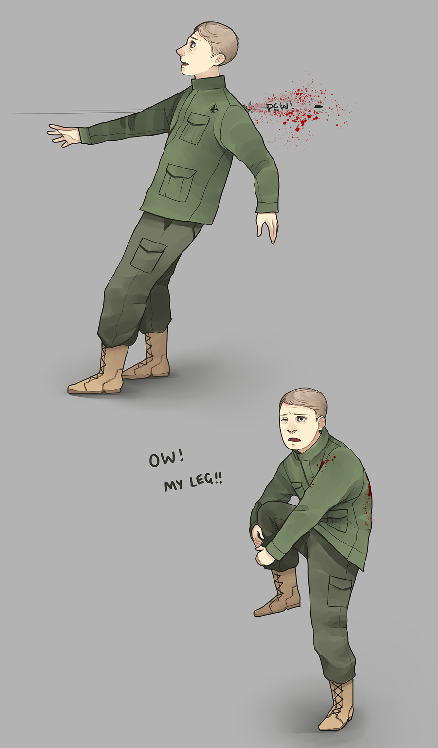 John is a normal human being by ~y0do on deviantART