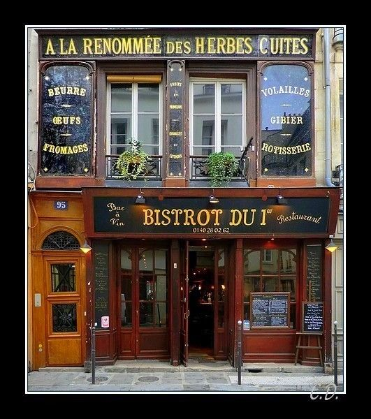 bistrot du 1 paris bares caf s y restaurancitos pinterest paris boutique et magasin. Black Bedroom Furniture Sets. Home Design Ideas