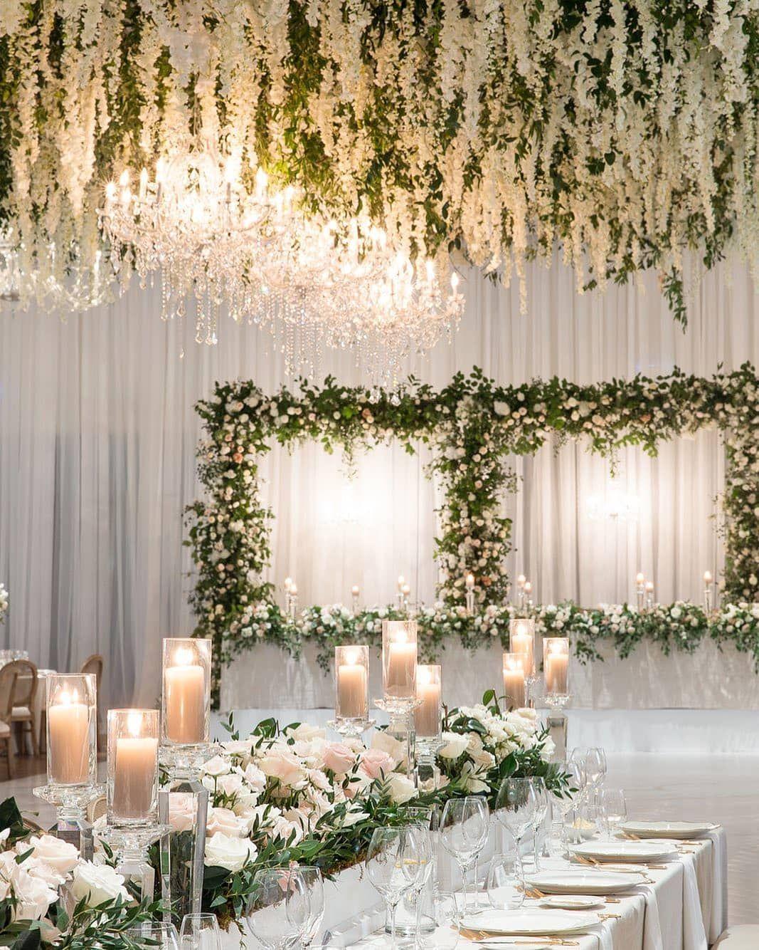 Gefallt 1 384 Mal 10 Kommentare The Wedding Pic Theweddingpic Auf Instagram Flowers Crystals 5iv Hochzeit Deko Hochzeitsdeko Hochzeit