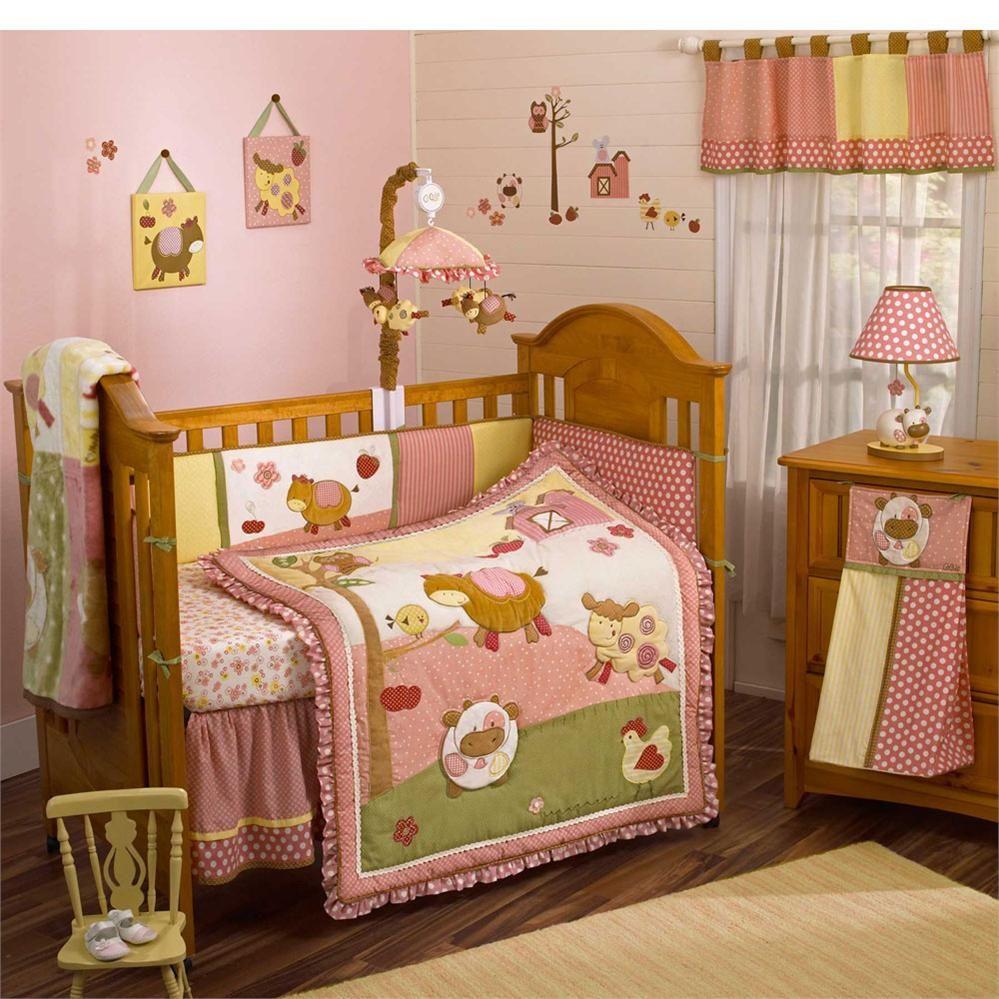Farm Animal Crib Bedding For Moms House