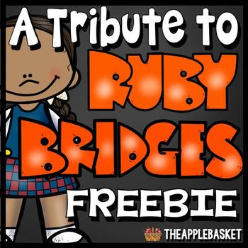 Ruby Bridges Poem and Reading Comprehension Questions for Grades 3-5 - copy free coloring pages for ruby bridges