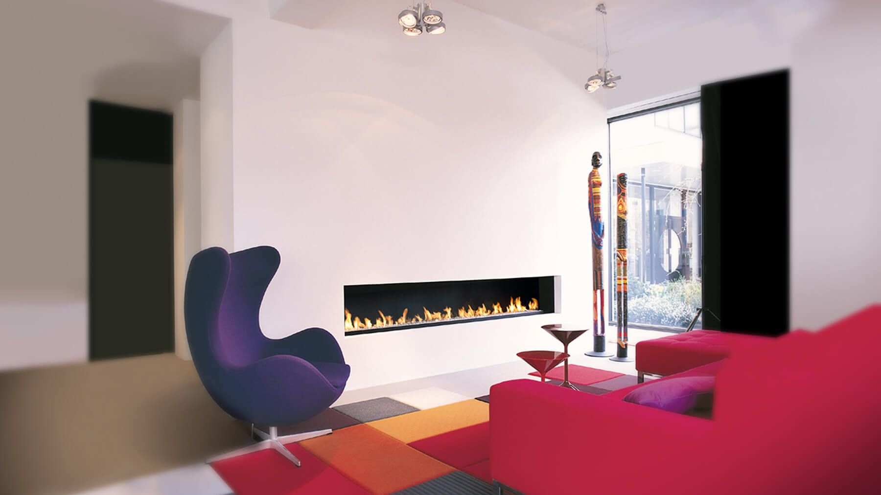 The 2600 Africa Ultra Modern Hole In Wall Fire With Sleek Simple Lines This Design Forms Part Of Our Gas Collection Various Sizes