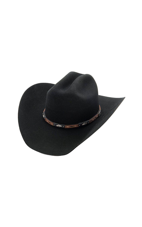 04d4808d9aa Larry Mahan® 3X Westbrooke Black Felt Cowboy Hat
