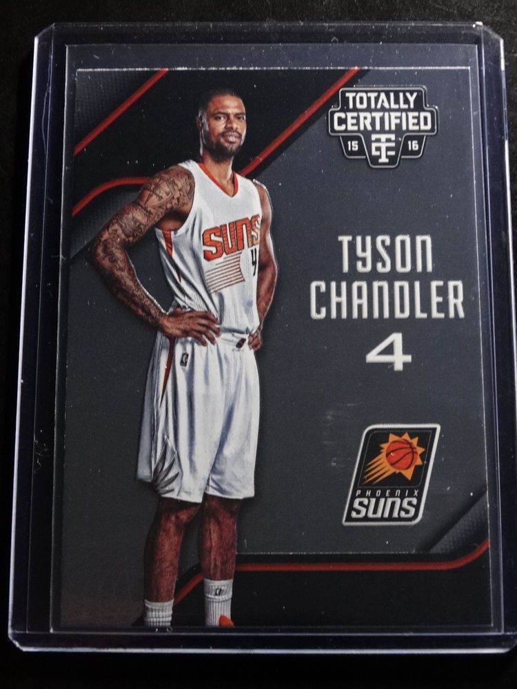 2015-16 Totally Certified #86 Tyson Chandler Phoenix Suns Card #PhoenixSuns