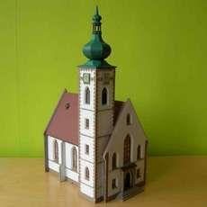 Faller grote stads kerk