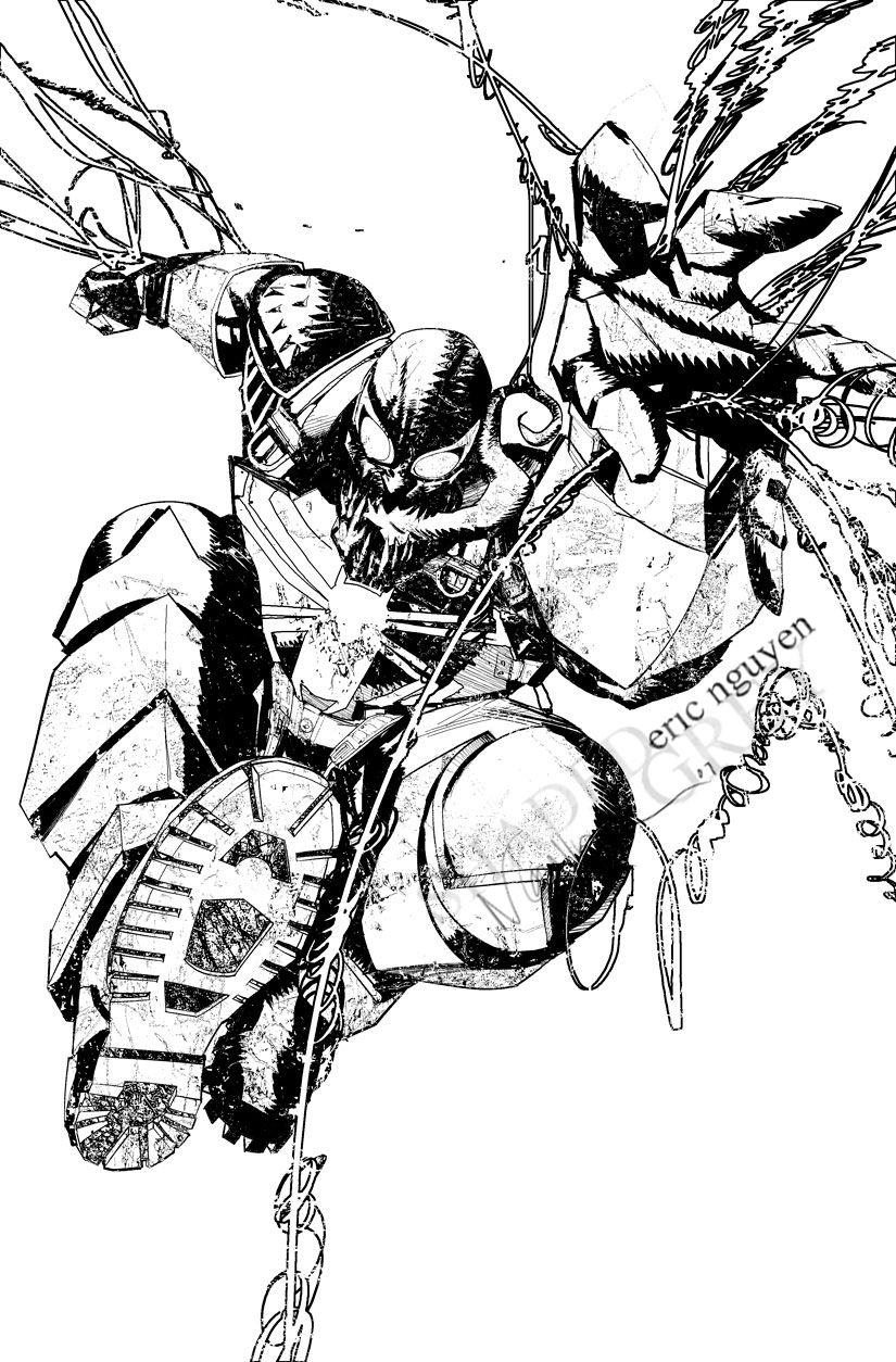 Agent Venom Eric Nguyen Comic Art Eric Nguyen Pinterest