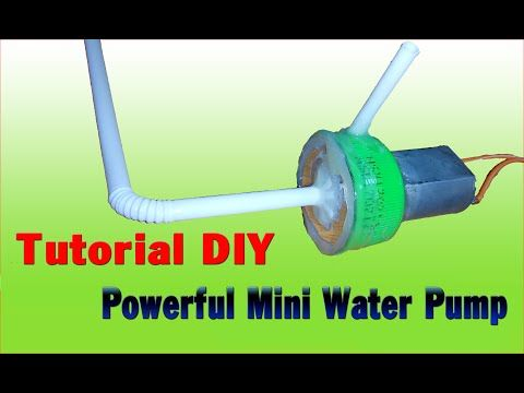 [Tutorial] How To Make powerful mini water pump (simple) - YouTube