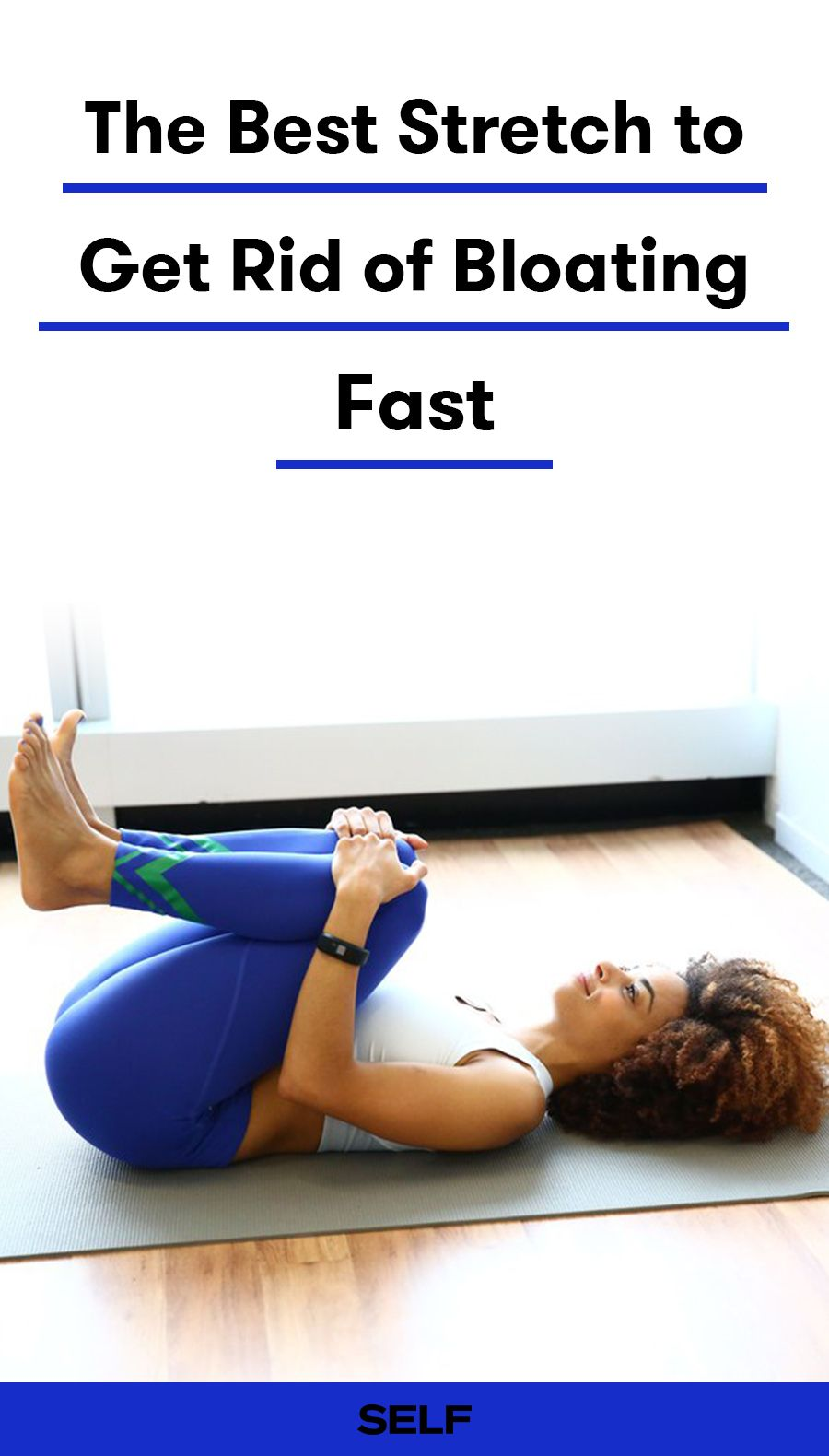 Feel Less Bloated In 2 Seconds With This Satisfying Stretch