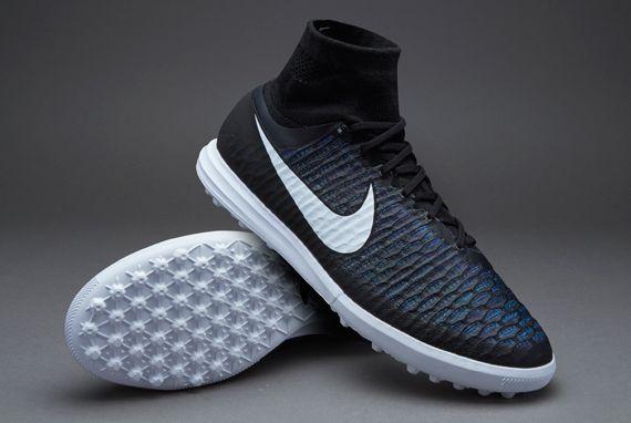 Nike MagistaX Proximo Street TF - Black White-Black-Turquoise Blue ... 0bc614f387