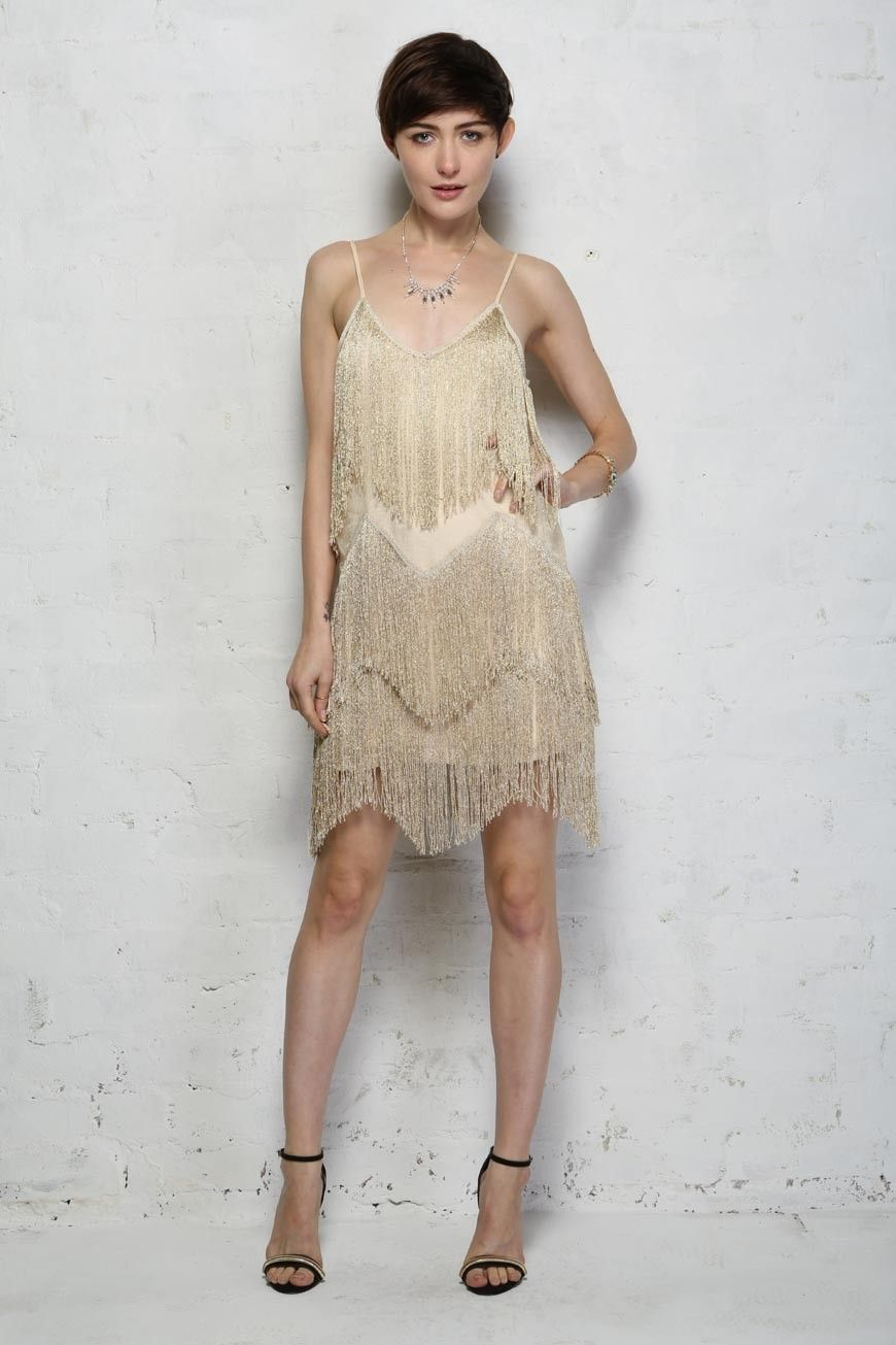 Fringe Flapper Dress